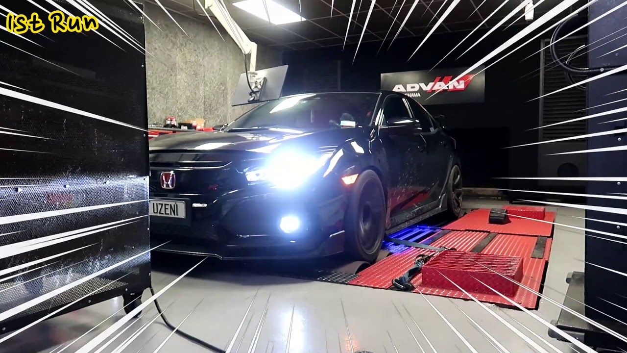 [451HP] Stage 2 Tune on my FK8 Civic Type R