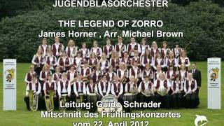 The Legend of Zorro -  Isselburger Jugendblasorchester