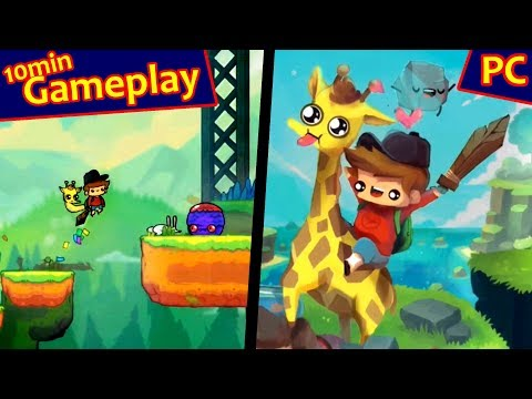 The Adventure Pals ... (PC, indie) Gameplay |