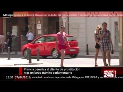 Málaga 24h TV -  Francia penaliza al cliente de prostitución tras un largo trámite parlamentario