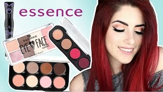 FULL FACE nur essence PRODUKTE! Drogerie Make-up ONE BRAND Tutorial I Luisacrashion