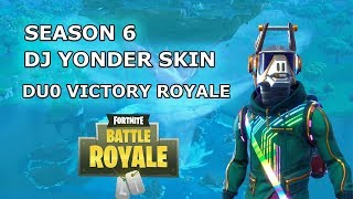 Season 6 DJ YONDER SKIN!! - Fortnite Battle Royale Duo Gameplay