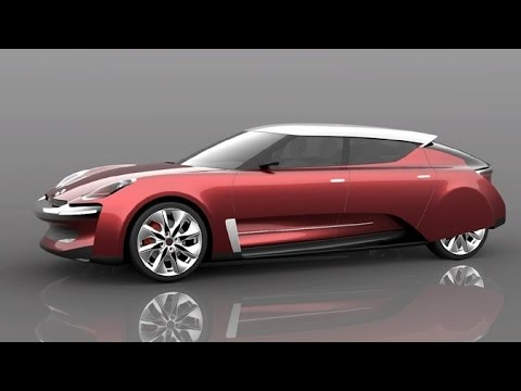 Citroen DS Revival concept by Jean-Louis - YouTube