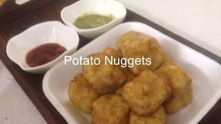 घर पर बनाए market जैसे frozen Potato Nuggets | easy snacks recipe | Suruchi Ji rasoi|