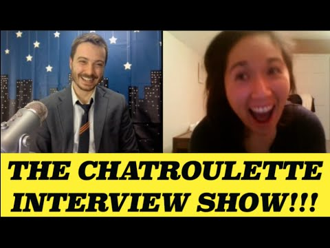 Nude Webcamming + Porn Part 1 (Chatroulette Interview Show 10)