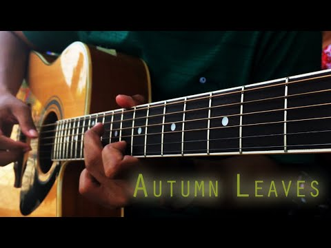 Eric Clapton - Autumn Leaves | guitar cover by KuDin