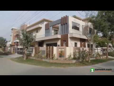 BRAND NEW FACING PARK CORNER HOUSE FOR SALE IN ABDALIANS SOCIETY LAHORE