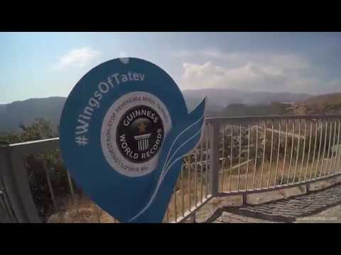 Riding The Longest Aerial Tramway In The World: The Wings Of Tatev, Armenia
