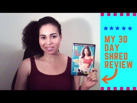 Jillian Michaels 30 Day Shred Review