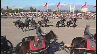 PARADA MILITAR 2011- Desfile Caballería del Ejercito de Chile - ® Manuel Alejandro 2011.