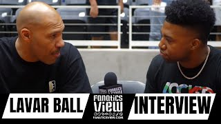LaVar Ball talks Lonzo Ball + LeBron James, Playing in the NFL & All 3 Ball's on The Same Team