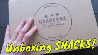 CRAVEBOX Premium Care Packages HEALTHY Snacks Box Unboxing || What's Inside?