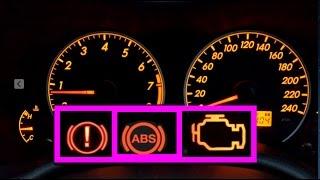 การแก้ไขไฟ Abs-brake เตือนบนหน้าปัด Fixing The Abs Warning Light