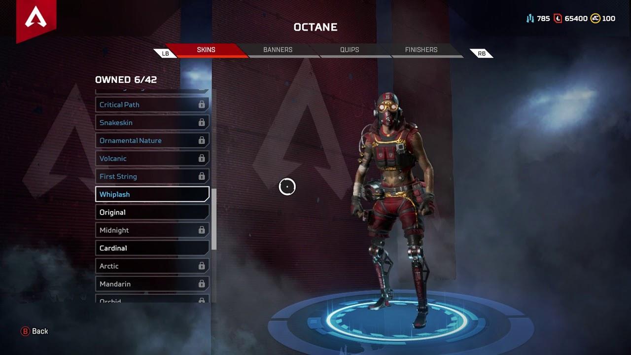 APEX Legends - Octane Twitch Prime Skin Added (Whiplash