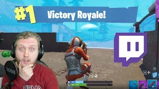 THE REAL WAY TO PLAY FORTNITE! Fornite Twitch Live Stream Gameplay