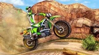 TRICKY WHEELS BIKE STUNT RACING 3D #Android Bike Games #Motor Bike Stunt Video #Bike Games Android