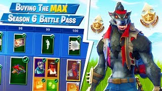 BUYING THE FULL SEASON 6 BATTLE PASS (Fortnite)