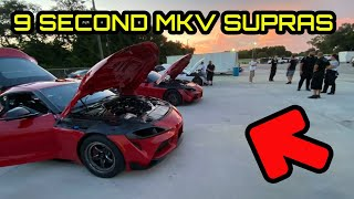 CAN A MKV TOYOTA SUPRA RUN 9s IN THE 1/4 MILE!?
