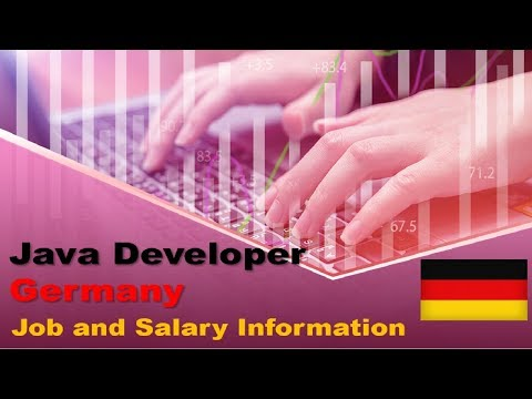 Java Developer Salary In Germany - Jobs And Wages In Germany