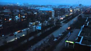 Шадринск Shadrinsk Timelapse