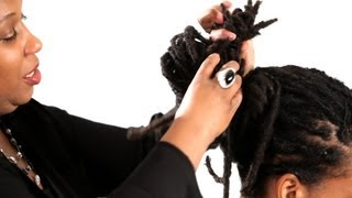 how to do a dreads twisted knot get dreads