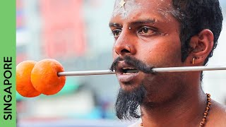 Little India SINGAPORE during Thaipusam | You won't believe it!