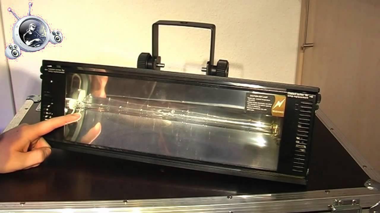 Video Check  Stairville Power Strobe 1500 DMX  YouTube