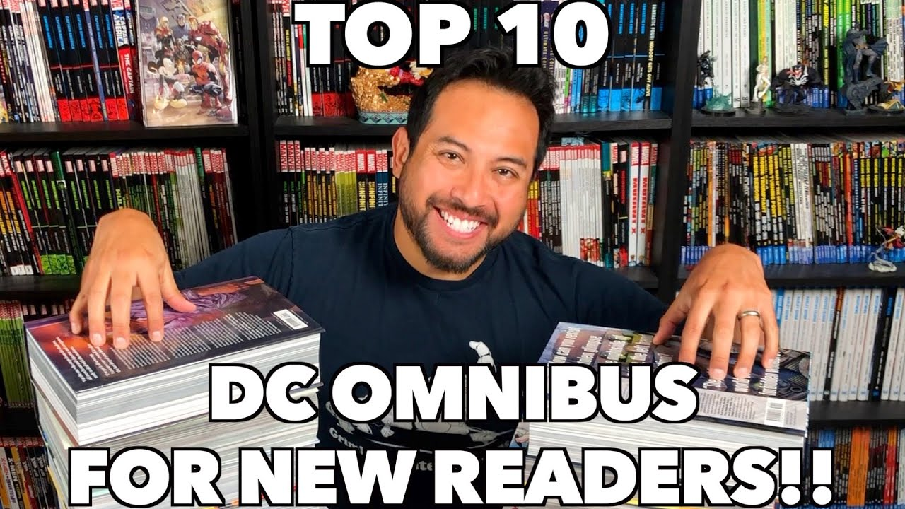 Download Top 10 DC Omnibus for New Readers!