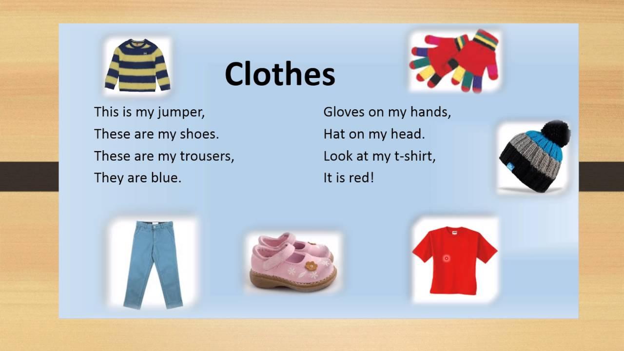 Resultado de imagen de clothes poem