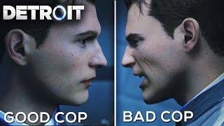 Good Cop Vs Bad Cop - DETROIT BECOME HUMAN