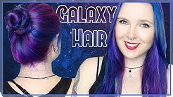 How to: GALAXY HAIR  - cruelty-free - LunarJess
