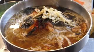 새콤달콤 비빔국수, 단골 많은 곳   의정부 제일시장 …