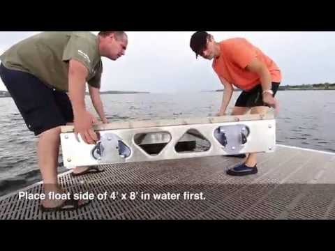 CanadaDocks™ Do-it-Yourself Floating Docks Overview