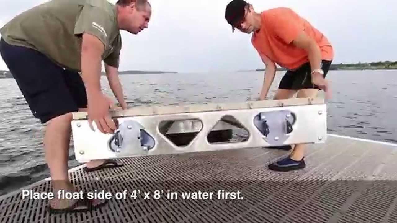 Canadadocks do it yourself floating docks overview youtube solutioingenieria Gallery