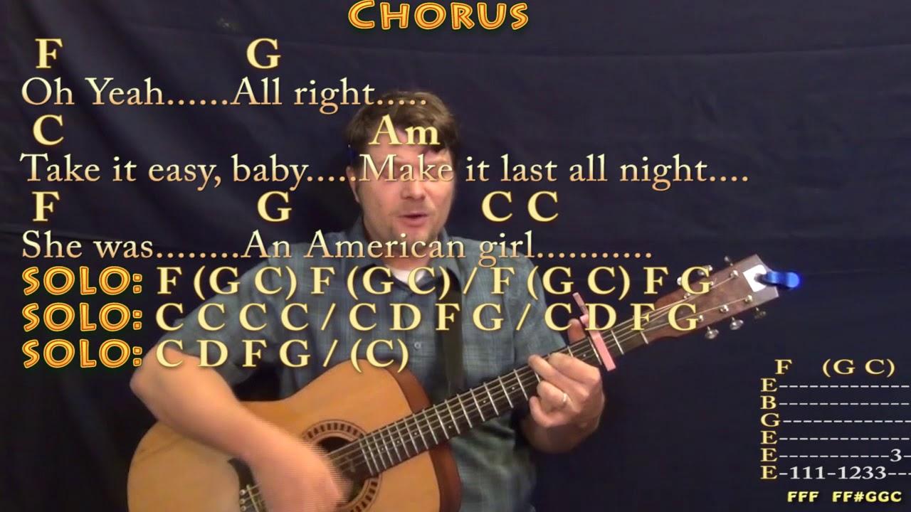 American girl tom petty strum guitar cover lesson with chords american girl tom petty strum guitar cover lesson with chordslyrics capo 2nd hexwebz Images