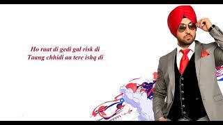 Diljit Dosanjh Raat Di Gedi Lyrics | Imslv