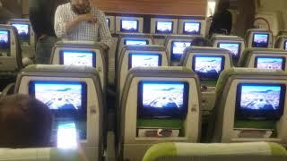 Abordando Avion de Latam desde Sao Paulo a Londres