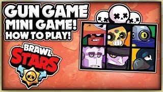 AWESOME Brawl Stars MINI GAME! + How To Play! - The Rarity Gun Game! - Brawl Stars