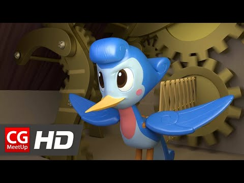 "CGI Animated Short Film ""Cuckoo"" by Celeste Amicay 