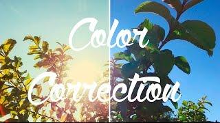 تعديل الوان الفيديو واضافه التأثير السينمائي Adobe Premiere Pro CC 2015 :: Color Correction