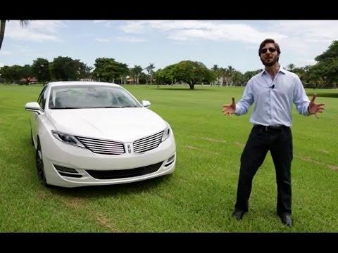 Prueba Lincoln MKZ Hybrid 2014 Espaol