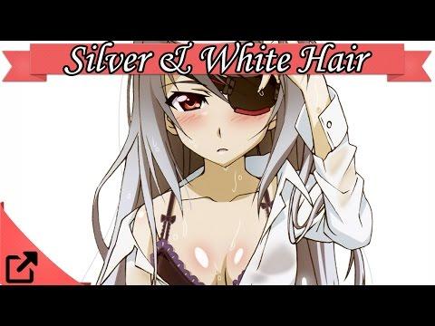 Top Silver & White Hair Anime Girl 2015