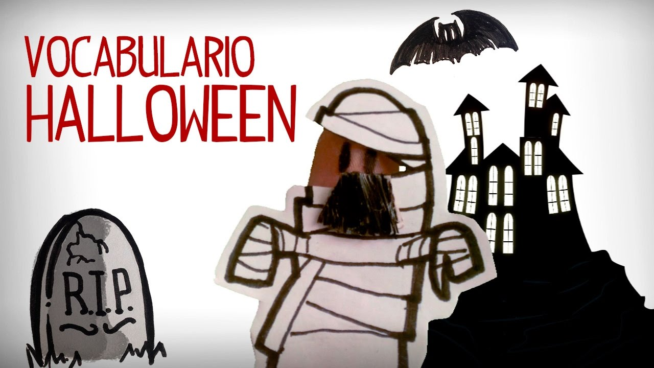 Vocabulario Halloween en español