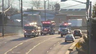 3 Alarm Structure Fire Kratzer Rd. Harrisonburg (Apparatus Only) R.R. Donnelley 2-20-13