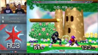 Rubicon 3 [10/10/15] - Losers Semis: TW | Dart! (Marth) vs. Duck (Samus)