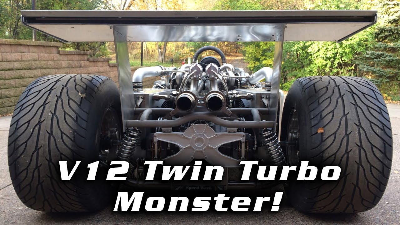 How a Hot-Rodder Home-Built a Twin-Turbo V12 From Two Toyota