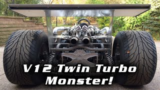 Don Groff's 1JZ V12 Twin Turbo First Drive!