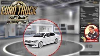 ETS 2 Online Polis Arabaları | Euro Truck Simulator 2 Türkçe Online