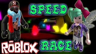 ROBLOX: Speed Race + Nuevo Peinado de Alexilla OoO