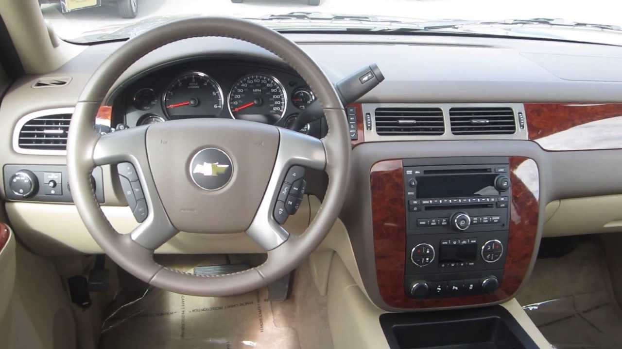 Chevrolet Tahoe Mocha Steel STOCK Interior YouTube - 2013 chevy tahoe pics